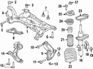 2010 Ford Focus Front Suspension Diagram