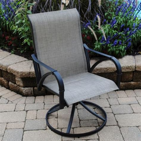 backyard creations augustine swivel rocker at menards 174