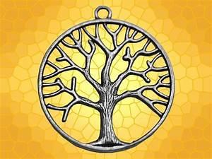 Symboles De Protection Celtique : pendentif argent arbre de vie rond bijou celtique symbole celte anticae ~ Dode.kayakingforconservation.com Idées de Décoration