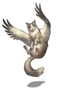 cats with wings