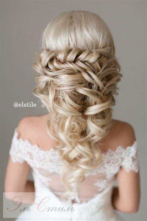 40 stunning half up half wedding hairstyles with tutorial deer pearl flowers