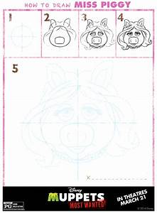 How to Draw the MUPPETS: Kermit, Miss Piggy, Animal ...