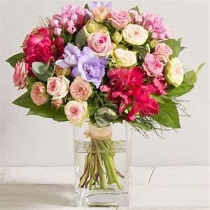 Bouquet De Fleurs Interflora : bouquet de fleurs soie 2si interflorawikifleurs votre fleuriste en ligne wikifleurs le blog ~ Melissatoandfro.com Idées de Décoration