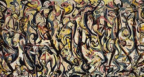 jackson pollock the mural is there a message in this painting daniel h pink