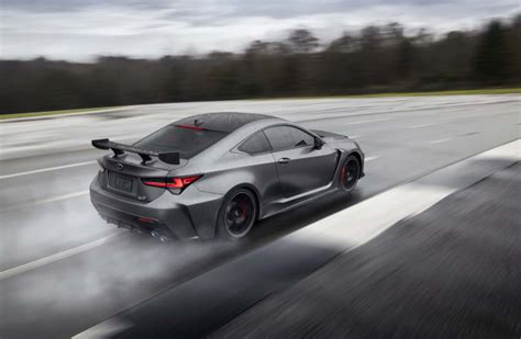 2020 Lexus Rc F Track Edition 0 60 by 2020 Lexus Rc F Unveiled In Detroit With Track Ready