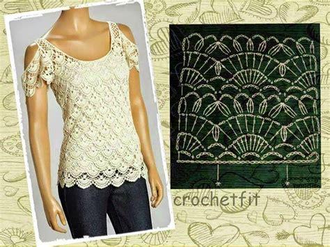 todo crochet blusa elegante con hombros descubiertos blusas con hombros descubiertos blusas