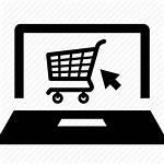 Shopping Icon Ecommerce Cart Background Commerce Icons