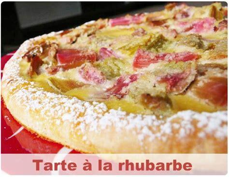 dessert a la rhubarbe tarte rustique 224 la rhubarbe chefnini