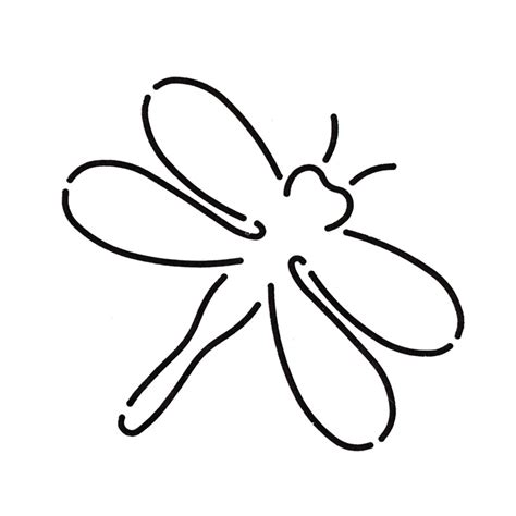 dragonfly template dragonfly outline template