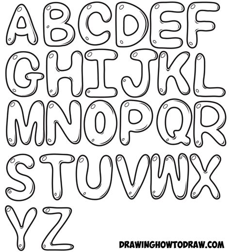 I Can Print In Small Letters And I Like To See The How To Draw Letters In Easy Step By Step Drawing