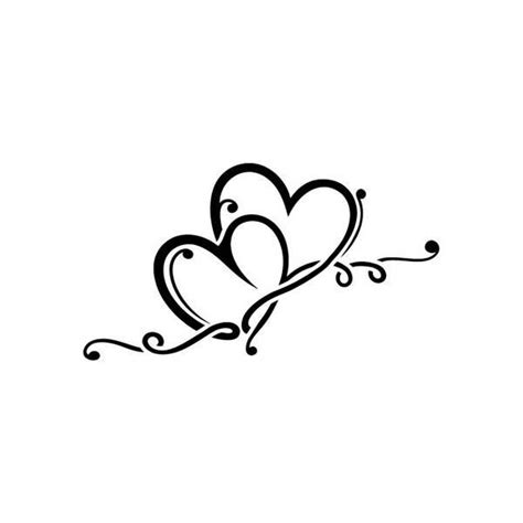 Tatouage Coeur Infini