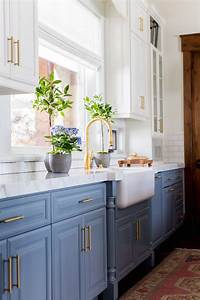 25 best ideas about blue kitchen cabinets on pinterest With kitchen cabinet trends 2018 combined with light blue wall art