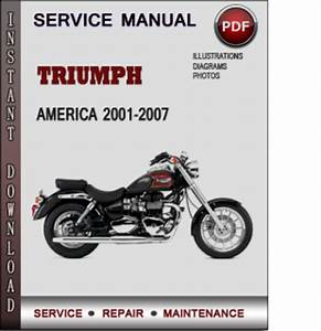 Triumph America 2001
