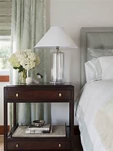 Mahogany Nightstand - Traditional - bedroom - Annette English