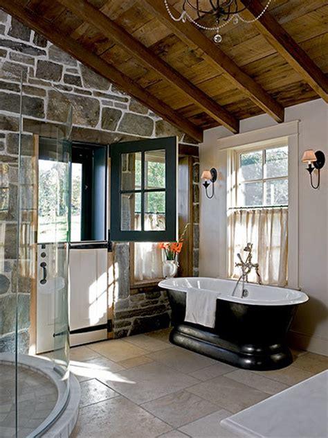 Elegant Rustic  Rustic  Bathroom  Boston  By Sargent