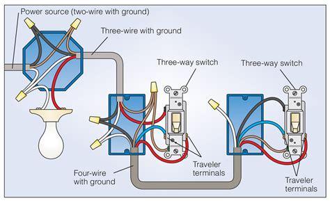 how to wire a 3 way light switch buzzza