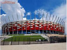 Stadio Nazionale della Polonia a Varsavia Nel Foto