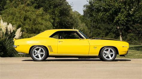 1969, Chevrolet, Camaro, Resto, Mod, Cars, Yellow ...