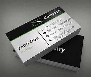 Company business cards templates thelayerfundcom for Company business cards templates