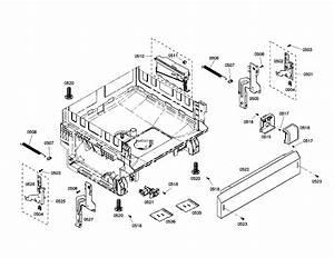 Base Diagram  U0026 Parts List For Model She4am12uc01 Bosch