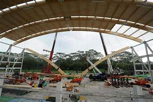 Yearly Home Maintenance Mass Engineered Timber Used For Wave Structure Of Ntu 39 S