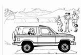 Bronco Ford Coloring Pages Truck Explorer Template Parts Sheets Printable Sketch 4x4 Carscoloring Concept Broncos sketch template