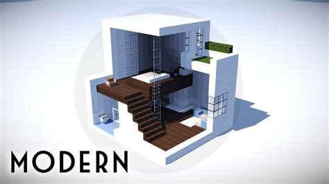Minecraft How To Build A Small Modern House Tutorial #100