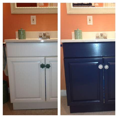 painting  laminate bathroom vanity diy projects