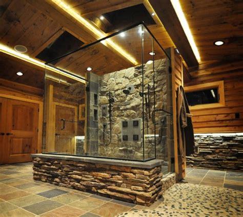 rustic stone shower culture scribe