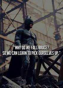 sports motivati... Famous Bruce Wayne Quotes