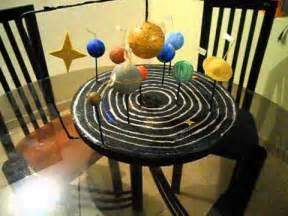 maqueta del sistema solar youtube