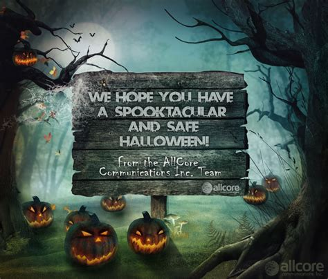 happy spooktacular halloween allcore communications