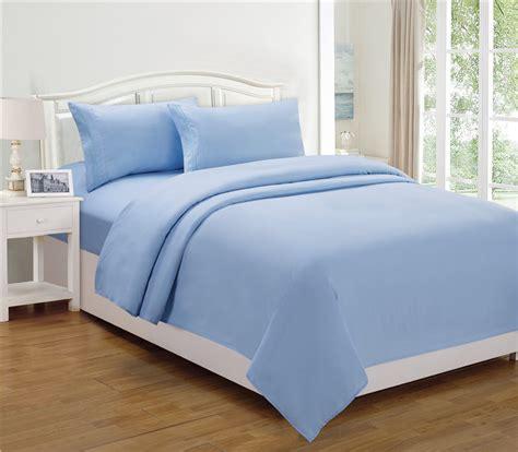 light blue bed set bed sheet set color light blue property room