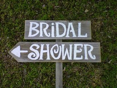 Shower Bridal Signs Sign Showers Decorations Diy