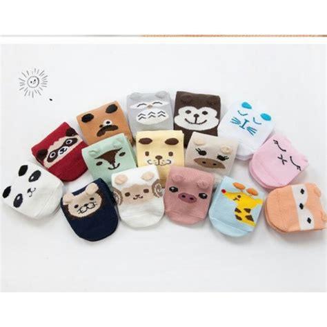 jual kaos kaki korea anak bayi kaos kaki binatang 3d kk36