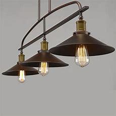 Yobo Island Lights Lighting Antique Kitchen Pendant, 3