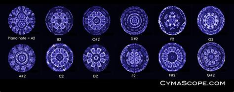 Seeing Sound Through Cymatics