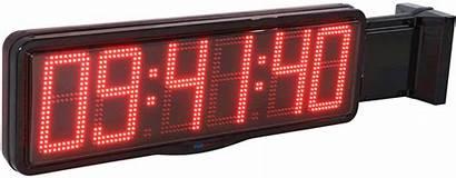 Digit Led Clocks Clock Wall Perpendicular Displays