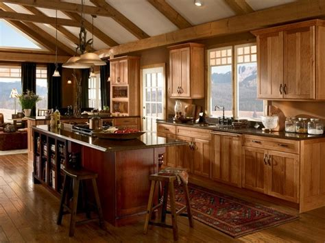 rustic hickory kitchen cabinets rustic hickory kitchen cabinets solid wood kitchen 4978
