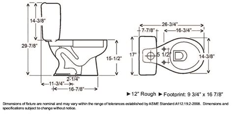 toilet dimensions google search dimensions pinterest
