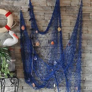 Fashion Nautical Fishing Balloon Net Decorative Beach ...