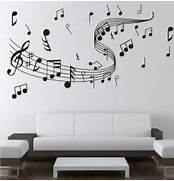 Wall Stickers Decoration Artistic Note Music Wall Sticker 0855 Music Decal Wall Arts Wall Paper Sticker