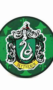 Slytherin Hogwarts House Harry Potter Coaster | Happy Piranha