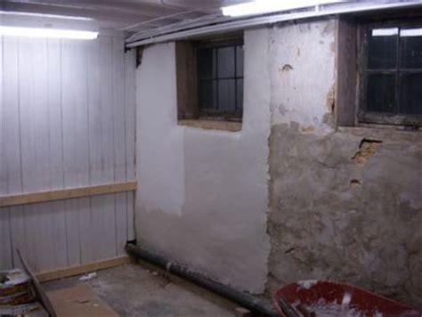 home cement  basements  pinterest wet basement wall