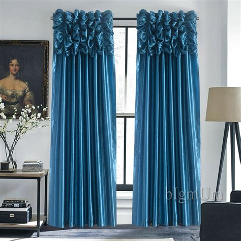 luxury valance curtains for window customized ready made