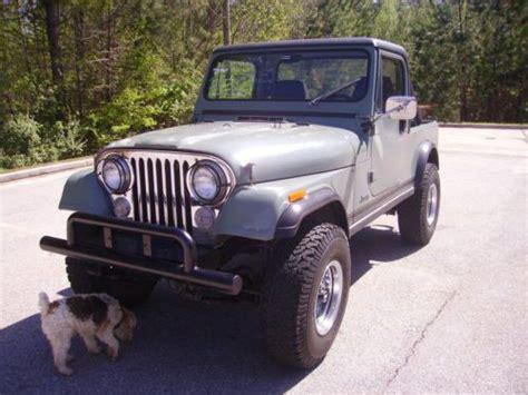 amc jeep cj7 buy used 1983 jeep cj7 newer amc 258 engine 4 speed manuel