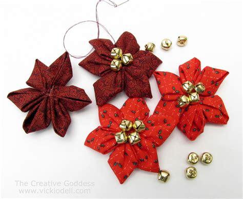 christmas crafts kanzashi flower maker poinsettias for christmas crafts