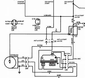 Chevy 350 Ignition Diagram