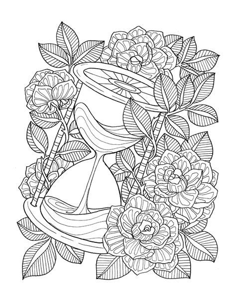"""""""pour voir la vie en rose"""" coloring book agenda 2016 on"""