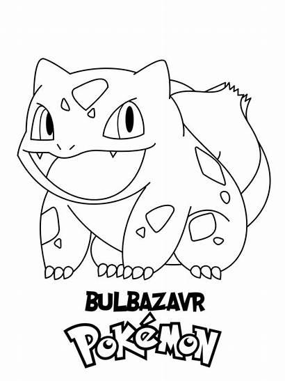Coloring Pokemon Bulbasaur